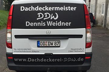 Fahrzeugbeschriftung in Bad Oldesloe